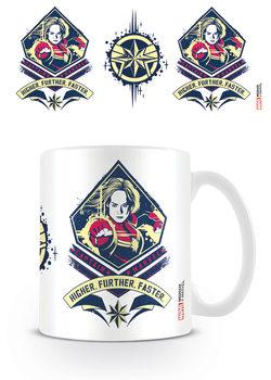 Captain Marvel - Higher, Further, Faster Mug