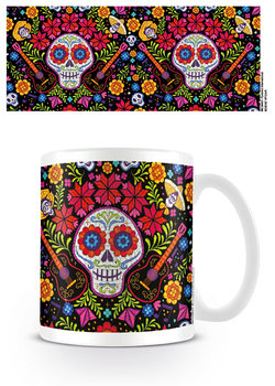 Coco - Embroidered Skull Mug