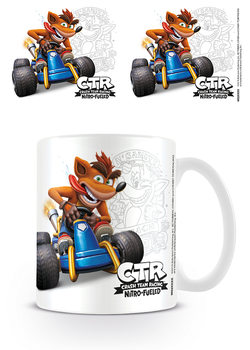 Crash Team Racing - Crash Emblem Mug