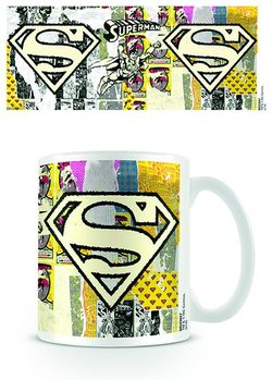 DC Originals - Superman Logo Dist Mug
