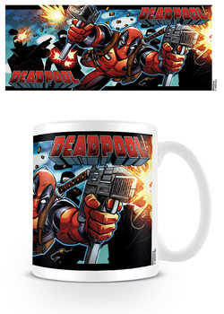 Deadpool - Shooting With Style Mug