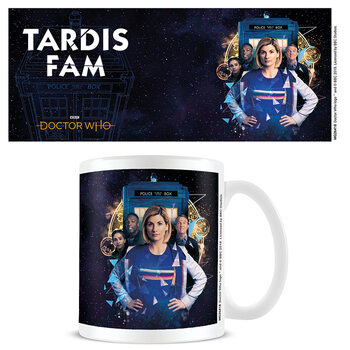 Cup Doctor Who - TARDIS Fam