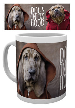 Dogs In Da Hood - Wrap Mug