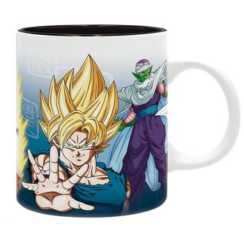 Dragon Ball - DBZ/Saiyans & Piccolo Mug