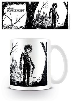 Edward Scissorhands - Black Ink Mug