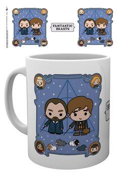 Fantastic Beasts: The Crimes Of Grindelwald - Chibi Newt and Dumbledore Mug