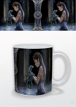 Fantasy - Water Dragon, Anne Stokes Mug