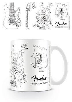 Fender - Exploding Stratocaster Mug
