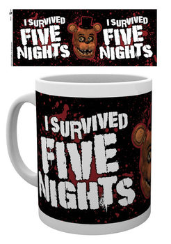 Five Nights At Freddy's - I Survived Mug