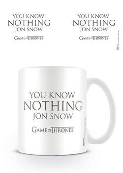 Game of Thrones - You Know Nothing Jon Snow Mug