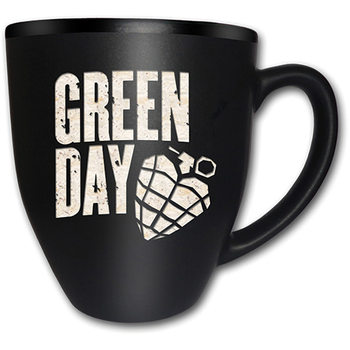 Green Day - American Idiot Matt Engraved Mug