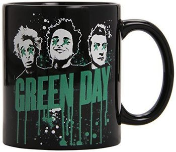 Green Day - Drips Boxed Black Mug