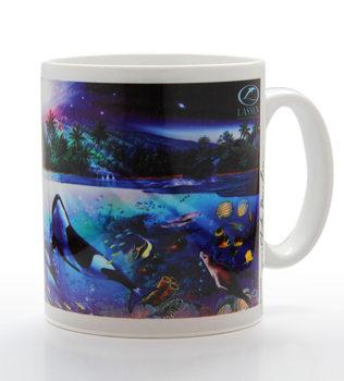Harmonious orcas - lassen Mug