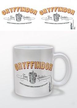 Harry Potter - Gryffindor Team Quidditch Mug