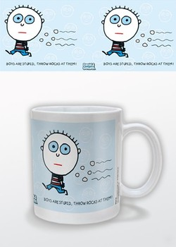 Humor – Boys R Stupid, David & Goliath Mug