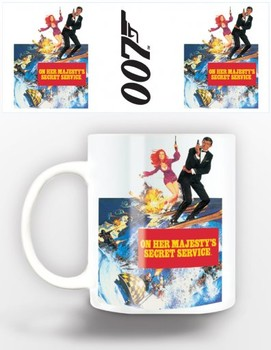 James Bond - on her majestys Mug