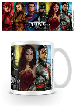 Justice League Movie - Hero Stripes Mug