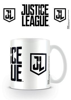 Justice League Movie - Logo Stencil Mug