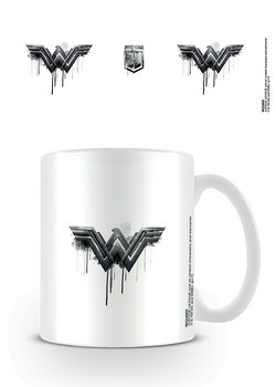 Justice League Movie - Wonder Woman Logo Drip Mug