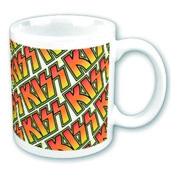 KISS - Boxed Mug Tiles Mug