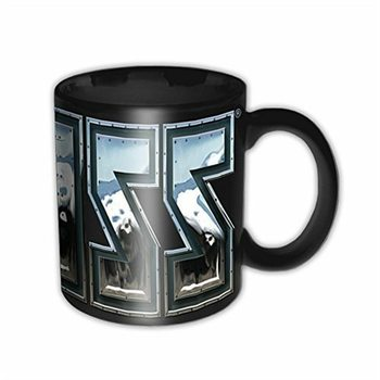Kiss - Chrome Logo Mug