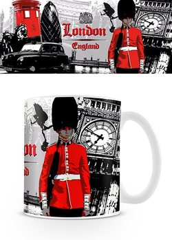 London - Guard Collage Mug