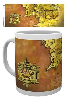 Lord Of The Rings - Map Mug