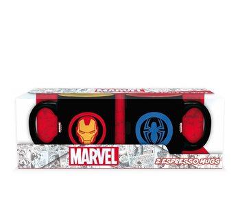 Cup Marvel - Iron Man & Spiderman