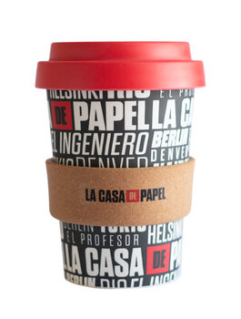 Eco cup Money Heist (La Casa De Papel)