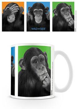 Monkeys - see no evil, hear no evil, speak no evil Mug