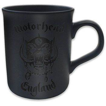 Motorhead - England Matt Black Mug