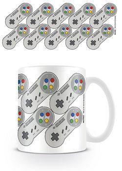 Nintendo - SNES Controller Pattern Mug