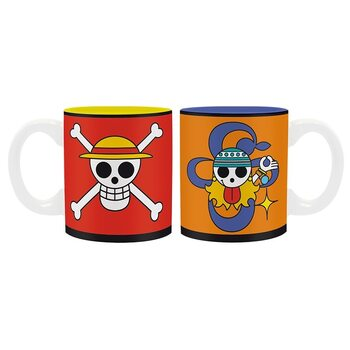 Cup One Piece - Luffy & Nami Emblems
