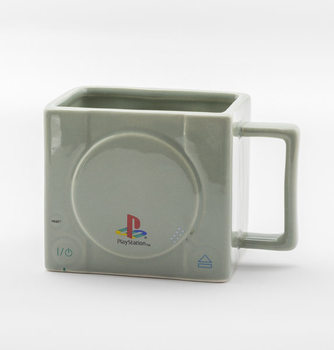 Playstation 3D Console - Raised Hand-Painted Buttons Mug