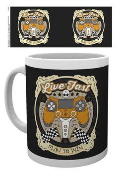 Playstation - Live fast Mug