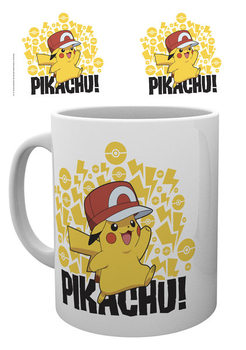 Pokemon - Ash Hat - Pikachu Mug
