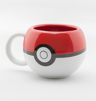 Pokemon - Pokeball 3D Mug