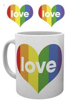 Pride - I Love Heart Mug