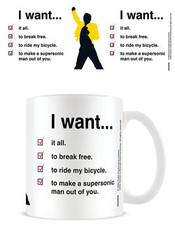 Queen - I Want Checklist Mug