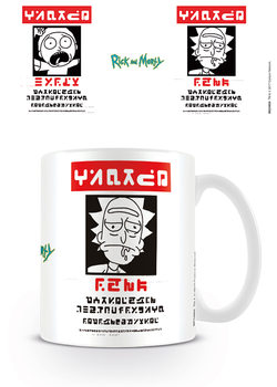 Rick and Morty - Wanted Mug