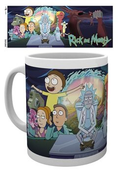 Rick & Morty - Season 4 Part One Mug
