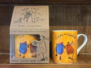 Sam Toft - Carrying on Regardless Mug