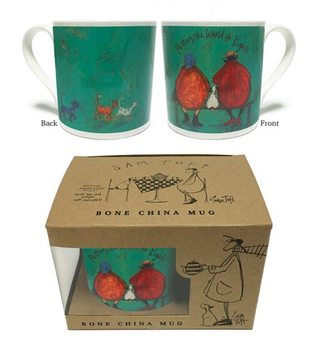 Sam Toft - Putting the World to Rights Mug