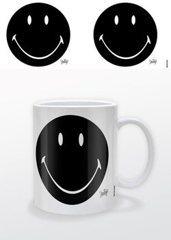 Smiley - Black Mug