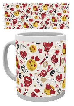 Smiley - Valentines Scrapbook Love Mug