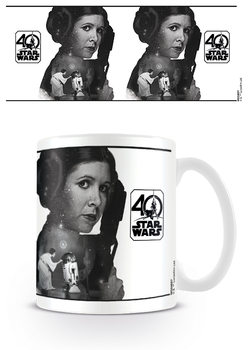 Star Wars 40th Anniversary - Princess Leia Mug