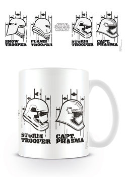 Star Wars Episode VII - Helmets Mug