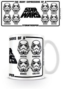 Star Wars - Expressions Of A Stormtrooper Mug