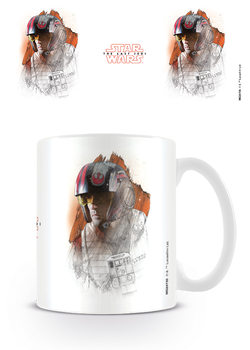 Star Wars The Last Jedi - Poe Brushstroke Mug