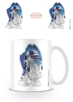 Star Wars The Last Jedi - R2-D2 Brushstroke Mug